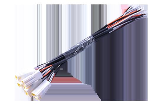 Car door handle wire extension cable