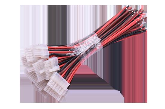 Terminal wiring harness